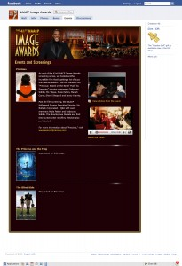 NAACP Image Awards Screenings Facebook Tab
