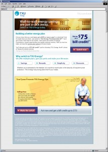 TXU Home Improvement Email